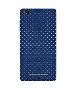 White Stars Back Cover Case for Xiaomi Mi 4c