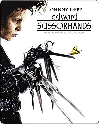 シザーハンズ スチールブック仕様 (2,400セット完全数量限定生産) [Blu-ray]