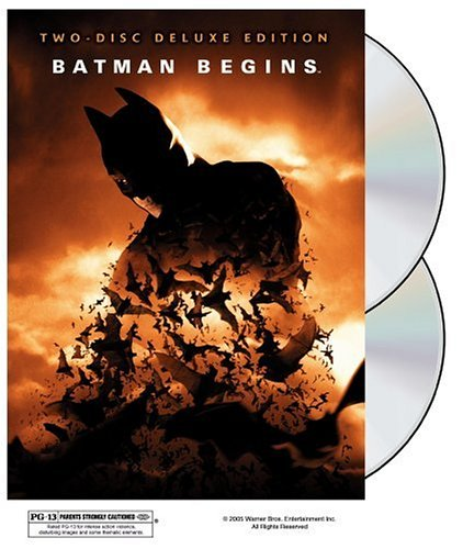 Batman Begins Two-disc Deluxe Edition at Gotham City Store