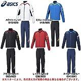 asics(アシックス) ジャムジー ブレードジャケット パンツ 上下セット (XAT139/XAT239) (O, ネイビー×Sブルー(5041/5041))