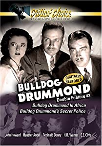 Bulldog Drummond Double Feature #3 [Import USA Zone 1]