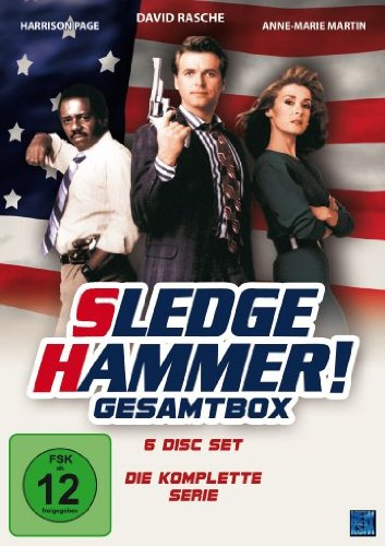 Sledge Hammer - Gesamtbox [Collector's Edition] [6 DVDs]