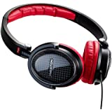 Phiaton MS 300 Premium Headphones With Double Shelled Carbon Fiber Enclosure and Closed-Ear Type Rear Enclosure For Concert Hall Quality Sound