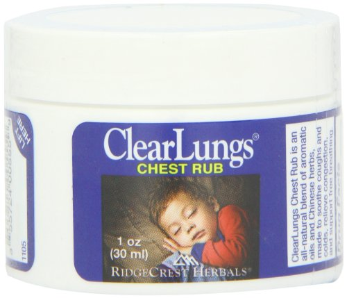 Ridgecrest Clearlungs Chest Rub, 1 Ounce