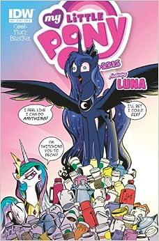 My Little Pony Micro Series #10 Luna 2013 *IDW Comics*: Amazon.com