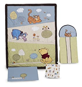 Kidsline winnie the pooh together time baby bedding collection baby bedding and accessories - Cute winnie the pooh baby furniture collection ...