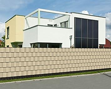 sichtschutz rolle 35m blickdicht pvc zaunfolie windschutz. Black Bedroom Furniture Sets. Home Design Ideas