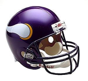 NFL Minnesota Vikings Deluxe Replica Football Helmet by Riddell