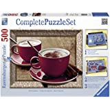 Ravensburger 14892 - Zeit für Cappuccino - 500 Teile Complete Puzzle Set