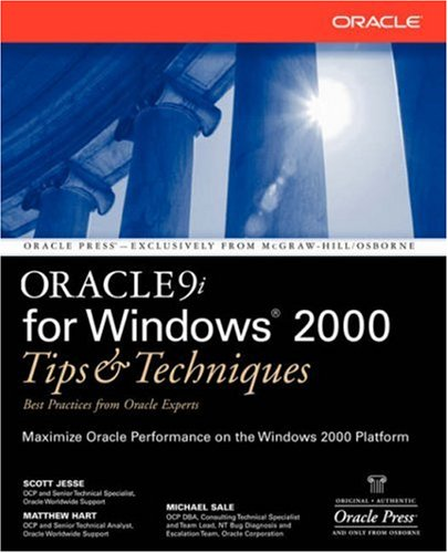 Oracle9i for Windows(R) 2000 Tips & Techniques