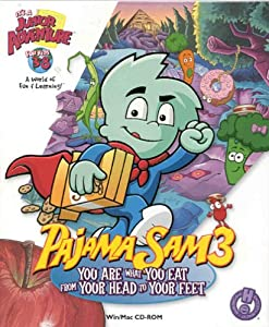 Pajama Sam 3: You Are What You Eat From Your Head to Your Feet - PC/Mac