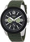 Esprit Herren-Armbanduhr 304 STAINLESS STEEL Analog Quarz Plastik A.ES105831002