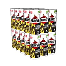 Brawny Individually Wrapped Regular Paper Towels Rolls White 30 Count