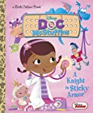 img - for A Knight in Sticky Armor (Disney Junior: Doc McStuffins) (Little Golden Book) book / textbook / text book