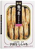 K&K 缶つまプレミアム 北海道産子持ちししゃも 100g
