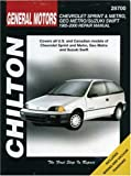 General Motors Chevrolet Sprint and Metro, Geo Metro/Suzuki Swift Repair Manual: 1985-2000 (Chilton Total Car Care Automotive Repair Manuals) Joseph D'Orazio