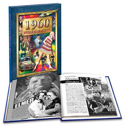 1960 What a Year It Was Book - Nostalgic 50th