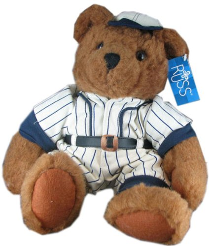 Homer' Baseball Plush Stuffed Teddy Bear by Russ