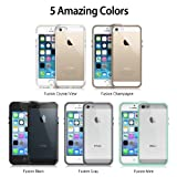 iPhone 5 / 5S Case - Ringke FUSION Case [Free HD Film/Drop Protection][BLACK] Shock Absorption Bumper Premium Hybrid Hard Case for Apple iPhone 5S / 5 - Eco/DIY Package
