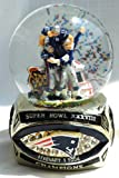 Rare New England Patriots Super Bowl 38 (XXXVIII) Champions collectible ring base snow Globe at Amazon.com
