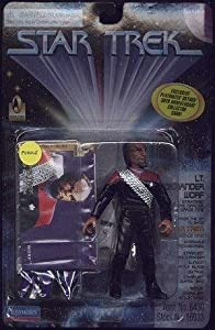 "4.5"" Lt. Commander Worf, Strategic Operations Officer, Deep Space Nine - Star Trek: Deep Space Nine"