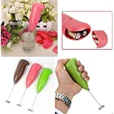 Abs Electric Milk Frother Handheld Milk Wand Mixer Frother For Latte Coffee Hot Milk, New Sleek Design Hand Blender...