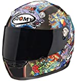 Suomy Vandal Tattoo Flash Helmet (Black Multi, Large)