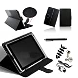 SQdeal® 7 Inch Synthetic Pu Leather Stand Folio