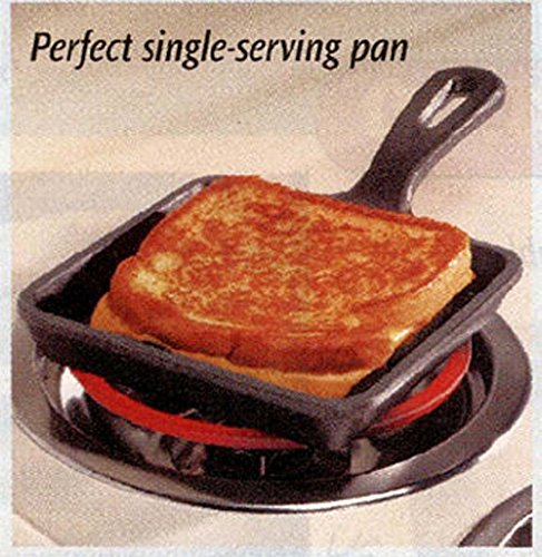 CLASSIC CAST IRON SQUARE SKILLET PAN