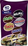 Mars Chocolate Minis Variety Mix, 40 Ounce Bag (Pack of 2)