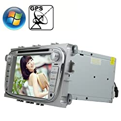 See Rungrace 7.0 inch Windows CE 6.0 TFT Screen In-Dash Car DVD Player for Ford Focus with Bluetooth / GPS / RDS Details
