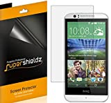 [6-Pack] SUPERSHIELDZ- Anti-Bubble High Definition Clear Screen Protector For HTC Desire 510 + Lifetime Replacements Warranty [6-PACK] - Retail Packaging