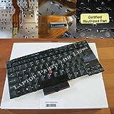 NEW OEM IBM/Lenovo Thinkpad T410, T410i, T410S, T410Si, T510, W510 Keyboard Black Alt FRU# 04W2753 45N2106 45N2211 FRU# 45N2141