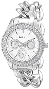 Fossil Women's ES3498 Stella Analog Display Analog Quartz Silver Watch