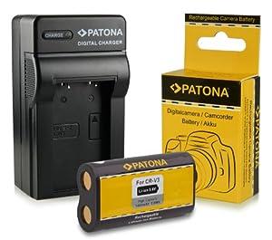Chargeur + Batterie CR-V3 pour Kodak EasyShare C300 | C310 | C315 | C330 | C340 | C360 | C433 | C503 | C530 | C533 | C603 | C633 | C643 | C653 | C663 | C703 | C743 | C875 | CD33 | CD40 | CD43| CX4200 | CX4210 | CX4230 | CX4300 | CX4310 | CX6200 | CX6230 | CX6330 | CX6445 | CX7220 | CX7300 | CX7310 | CX7330 et bien plus encore...