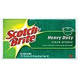 Scotch-Brite Scrub Sponge, Heavy Duty, 1-Count (Pack of 6)