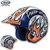 アライ:トライアルヘルメット ハイパーT ケニー3/HYPER-T KENNY3 ホワイト/オレンジ  サイズ:59-60