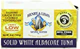 Henry and Lisa's Natural Seafood Low Sodium Solid White Albacore Tuna Cans, 5 Ounce