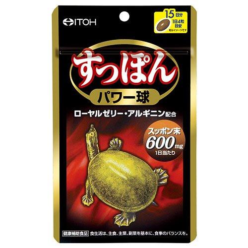井藤漢方製薬 すっぽんパワー球 60粒