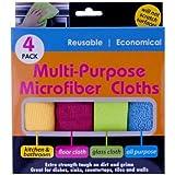 Kole Imports Multi-Purpose Microfiber Cloths