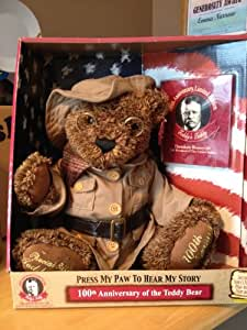 Theodore Roosevelt Teddy's Teddy Talking 100th Anniversary Bear Ltd. Edition