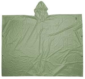 CLC Rain Wear R10420 .10MM PVC Poncho - Green Large