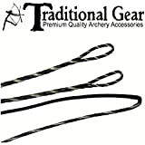 FLEMISH - Fast Flight Plus - REPLACEMENT RECURVE BOWSTRING - BOW STRING - ACTUAL STRING LENGTH - By Traditional Gear Archery Products (Multiple Sizes)