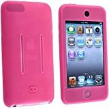 eForCity Soft Silicone Skin Case Shield for iPod touch 1G/2G/3G (Hot Pink)