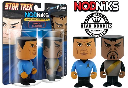 Star Trek's Spock & Klingon - Nodniks - 1