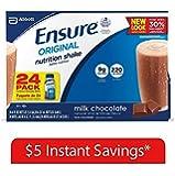 Ensure Original Nutrition Shake, Milk Chocolate (8 fl. oz., 24 ct.)