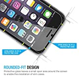 iPhone 6 Screen Protector iPhone 6 Glass Screen Protector Tempered Thinnest Ballistics Glass iPhone 6 6S (4.7 inch ONLY) Maximum Screen Protection from Bumps, Drops, Scrapes, and Marks