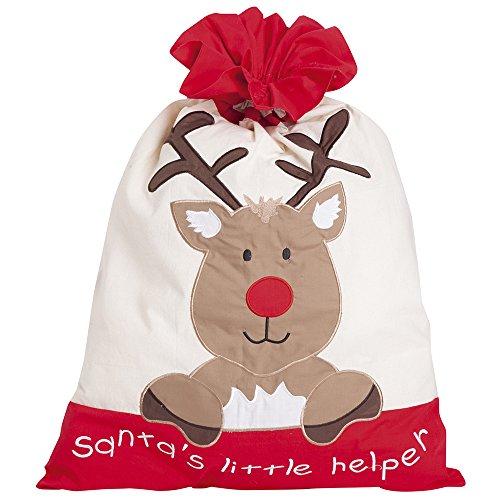 JoJo Maman Bebe Christmas Sack, Reindeer - 1