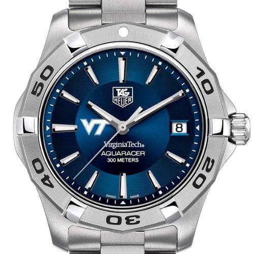 Virginia Tech Men'S Tag Heuer Blue Aquaracer