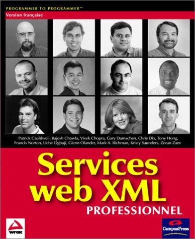 Wrox service web xml professionnels